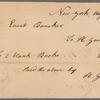 Hugh Gaine receipted bill to Evert Bancker