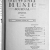 Jewish music journal Vol. 2 no. 3