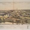 Bird's eye view, Centennial Buildings, Fairmount Park, 1876.  Philadelphia.