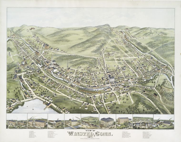 View of Winsted, Conn.