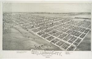 Oklahoma City, Indian territory.