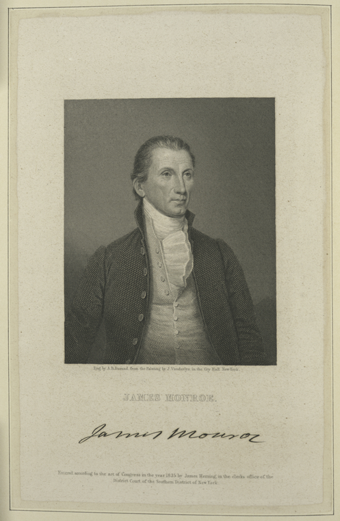 This is What James Monroe Looked Like  in 1826