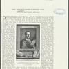 Kupferstitch von Maurice Blot (Paris 1815) nach dem porträt Winckelmanns von A.R. Mengs (1/16 der natürl. Grösse)