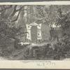J.J. Winckelmann's Grabmal bei Triest. Nach einer Zeichnung von C. Baron Malchus