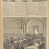 The court-room in which Captain Wirz, The Andersonville jailer, is being tried at Washington--[See page 582.]