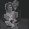 Gower Champion and Wanda Richert during rehearsal of the stage production 42nd street