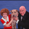 Andrea McArdle and Reid Shelton in the stage production Annie