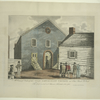 A correct view of the Old Methodist Church in John Street N. York.  The first erected in America.  Founded A.D. 1768