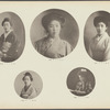 [Five portraits of Japanese women] plate [5]