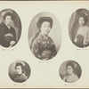 [Five portraits of Japanese women] plate [14]