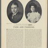 Mr. and Mrs. Timothy Lester Woodruff, whose wedding last Monday, was one of the first of the post-Easter events
