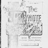 The Keynote Vol. VIII, no. 3