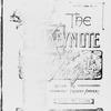 The Keynote Vol. VIII, no. 13