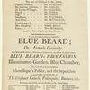 Theatre, Birmingham (Birmingham, England) playbills 1800-1803: portfolio