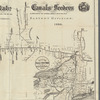 Profiles of the New York State canals and feeders: showing the elevations of the water surfaces above tide water, & junction of the lateral canals with the Erie