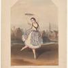 Fanny Cerrito [facsimile signature] in the new grand ballet Alma; ou La fille du feu, no. 1, La Bohémienne