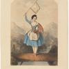 Fanny Cerrito [facsimile signature] as La vivandière