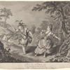 Pas de deux tiré du second acte de l'opéra de Silvie, exécuté par Mr. Dauberval & Melle. Allard