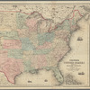 Colton's United States shewing the military stations, forts, & c.