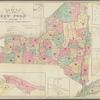 Census of the State of New York, 1855: showing the new senatorial & assembly districts 1857