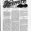 The Keynote Vol. XVII, no. 9