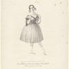 Amalia Brugnoli Samengo, prima ballerina danzante nel gran Teatro d'Apollo in Roma, la primavera del 1840