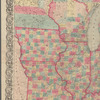 Colton's railroad & township map, western states: compiled from the United States surveys