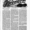 The Keynote Vol. XVIII, no. 1