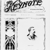 The Keynote Vol. XVIII, no. 6