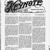 The Keynote Vol. XVIII, no. 6