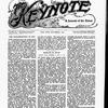 The Keynote Vol. XVIII, no. 11