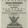 Beschrijvinghe van Virginia... [Title page]