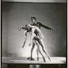 """Patricia McBride, Melissa Hayden and Frank Hobi in Balanchine's """"Serenade"""", no. 1"""