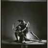 """Patricia McBride, Melissa Hayden and Frank Hobi in Balanchine's """"Serenade"""", no. 2"""