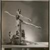 """Patricia McBride, Melissa Hayden and Frank Hobi in George Balanchine's """"Serenade"""", no. 114"""