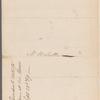 President of the United States [George Washington] to Oliver Wolcott