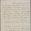Benjamin Rush to Oliver Wolcott, Philadelphia