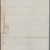 President of the United States [George Washington] to Oliver Wolcott [?]