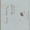 Josiah Quincy to George Gibbs, Boston