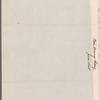 Henry Clay to George Gibbs, Washington