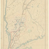 Map of water shed of Housatonic, Croton, Bronx and Byram Rivers: the location of proposed conduits from the Housatonic to the Croton Basin, and aqueduct lines