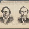Among the Mormons. Daniel H. Wells / R & G sc.  George A. Smith / [FGH?]