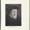 Ulrich Zwingli, 1484-1531 A.D. (From the painting by Holbein the Younger, in the Uffizi Gallery, Florence)