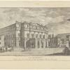 Veduta del Teatro Grande alla Scala. Disegno del Sigr. Dn. Giuseppe Piermarini R. Architetto