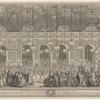 Decoration du bal masqué donné par le roy dans la grande gallerie du chateau de Versailles: à l'occasion du mariage de Louis Dauphin de France avec Marie Therese Infante d'Espagne, la nuit du XXV. au XXVI fevrier, MDCCXLV