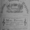 The Scottish musical magazine Vol. IV, no. 8