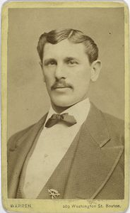 Harry Schafer, Boston Red Stockings, 3rd base. 1872