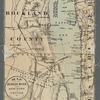 The Hudson by daylight map from New York Bay to the head of tide water: containing names of streams, islands and heights of mountains according to the latest Coast Survey, also the names of prominent residences, historic land marks, the old reaches of the Hudson and old Indian names