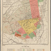 Adirondack survey, Sketch in colors showing the location of the great land patents