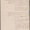 Gilbert Livingston's notes for an address to the New York State Convention